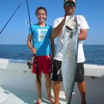 30-lb Kingfish Caught on Key West Fishing Charter Southpaw