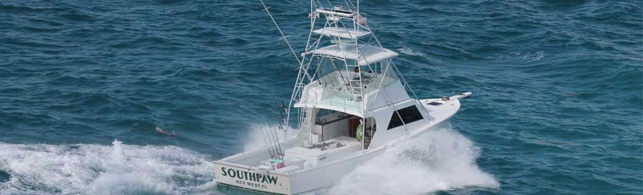 Aerial Stern View of F/V Southpaw