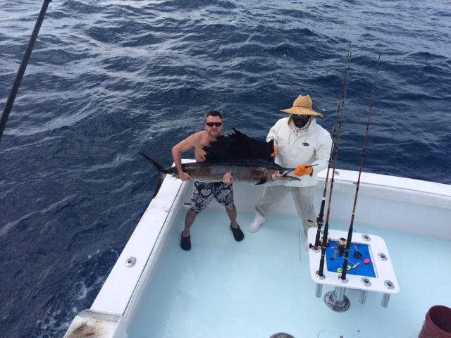 Showering Sailfish