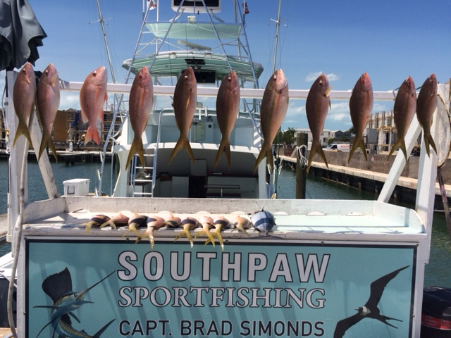 Fishing in May aboard with Southpaw Fishing Key West
