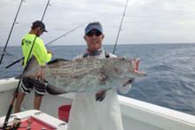 Another black grouper