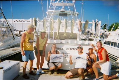 southpaw charter with their catch