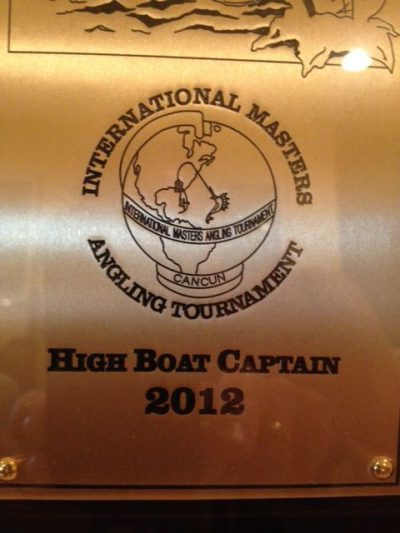 2012 international masters angling tournament trophy