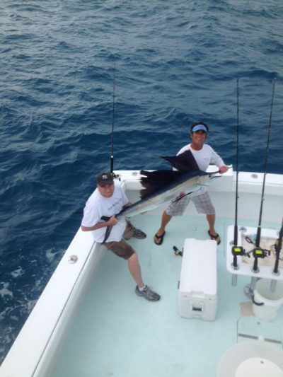 Sailfish aboard the southpaw